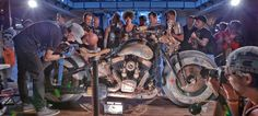 Find out what a tattooed custom motorcycle is and what it looks like, during Sturgis rally. Sturgis Motorcycle Rally, Motorcycle Rallies, Motorcycle Tattoos, Hot Bikes, First Tattoo, First World, Biker, Painting, Painting Art