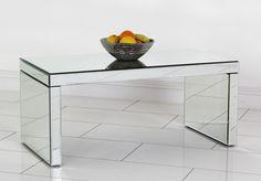 Simple Small Mirrored Coffee Table Mirrored Coffee Tables, Small Mirrors, Simple, Furniture, Home Decor, Interior Design, Home Interior Design, Arredamento, Home Decoration