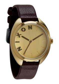 The Wit. Style isn't static, it evolves. And in the process, traditions get tweaked. The Wit borrows heavily from the classics with its Italian leather band and bright gold case but it's making a bold new statement. Look closely. Sure, its sophisticated but daring dial details make it fun and fresh. A fine balance of class and classic for work, weekends, whatever.