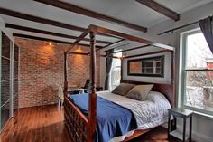I like the exposed brick. small though. dont like the tiles all throughout the main rooms
