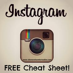 Grab YOUR Free Instagram Cheat Sheet / How To Guide to get more likers & Followers on your account TODAY! #instagram #followers #likers #free #howto #guide