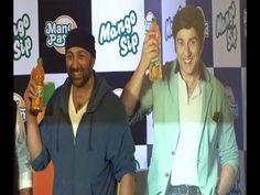 Sunny Deol launch Man pasand juice Mango Sip.