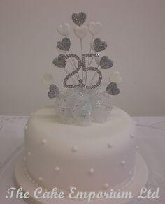 25th Anniversary Cake In 2019 Cakes 25 Anniversary Cake Wedding