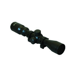 """Hawke 2-7x32mm Scope - Matte Black $87.99 Drop compensation reticle provides long range capability out to 60 yards with calibrated wind drift marks.  Specifications:  - Bright fully coated optics - Large ocular lens for wide field of view - Quick focus eye piece for clear reticle - Eye relief at 4.55- 3.88"""" - Mult-A-Range reticle design - 2-7.3x36 varible power - Water proof, fog proof and shock proof - Rings are not included"""