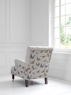 Fab country chair http://www.justfabrics.co.uk/furniture/chairs/gamebird-chair/