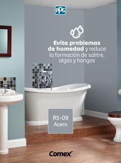 Bathroom Remodeling, Apple Cider, Ideas Para, Bathtub, Wall, House, Colorful Houses, House Paint Colors, Paint Colors