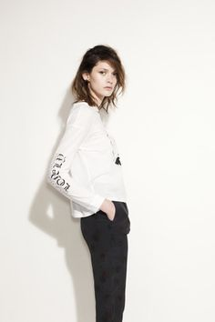 LS tee Lonely Heart, Long Sleeve Tees, Normcore, Style Inspiration, Sleeves, Hearts, How To Wear, Spring, Fashion