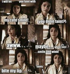 Fan Art of Really FAINTS!! for fans of Michael Jackson. I found this picture in Facebook and I looove it!!! xD