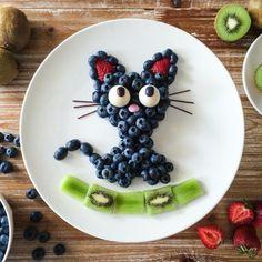 42 Ideas Fruit Design For Kids Snacks For 2019 - Obst Cute Snacks, Cute Food, Good Food, Fruit Snacks, Kids Fruit, Fun Fruit, Fruit Ideas, Kreative Snacks, Food Art For Kids