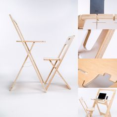 The Purely desk and chair by JKMOD.