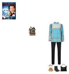 """Scrooged"" by fashionqueen76 ❤ liked on Polyvore featuring BOSS Orange, Department 56 and movie"