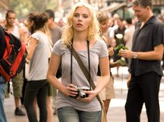 "Scarlett Johansson filming ""Vicky Cristina Barcelona"" [Album]"