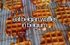 Belgian Gaulettes: Vanilla and Brown Sugar Waffle Cookies