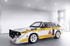 Audi S1 Group B by Patrik Karlsson 2002tii, via Flickr Remember seeing these in the Kielder forest when I was a kid...