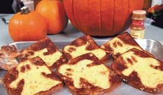 How to Make Ghost Toast (easy:cinnamon/sugar on bread, using foil cut out, then broiled)