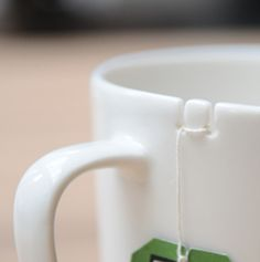 Hold & Hide: Two Tea-Bag-Centric Ceramic Cups & Saucers