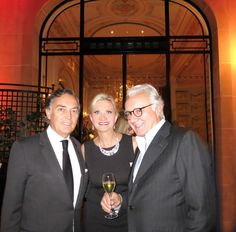 François Delahaye, general manager for the Hôtel Plaza Athénée in Paris, at the closing evening of the palace