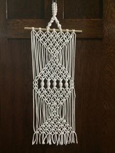 Hey, I found this really awesome Etsy listing at https://www.etsy.com/listing/216723290/macrame-wall-hanging