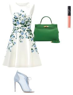"""Untitled #136"" by iancuerica ❤ liked on Polyvore featuring Chloe Gosselin, ERIN Erin Fetherston and NARS Cosmetics"