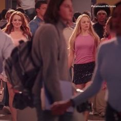 The Mean Girls cast was pure gold.