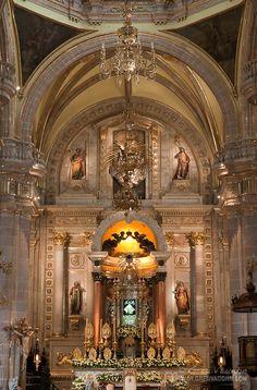 Our Lady of San Juan de los Lagos church in the town of             Templo de Nuestra Señora de San Juan de los Lagos, Jalisco, Mexico by Greg Vaughn