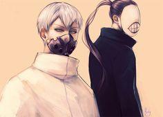 Tokyo Ghoul   Tatara and Noro
