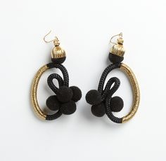 PICHULIK Geisha earrings unique African statement jewellery - Modern Tradition…