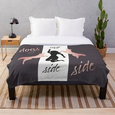 My Side, Designs, Bed Pillows, Pillow Cases, Dogs, Furniture, Home Decor, Dog Owners, Pillows