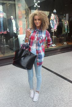 STREET STYLE: Check her out