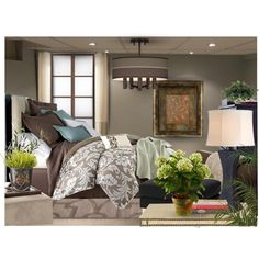 """Small Traditional Master Bedroom"" by tanyaf1 on Polyvore"