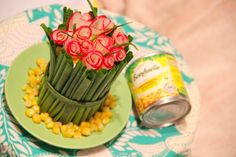 "Салат ""Букет для матусі"" #рецепти #салати"