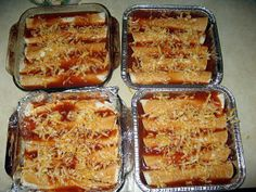 BEEF ENCHILADAS  freezer meals
