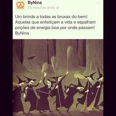 "@instabynina's photo: ""Um brinde as bruxas do bem!!! #halloween #diadasbruxas #bynina #instabynina"""