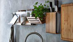 Afbeeldingsresultaat voor muur keuken planken