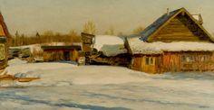 Ю. П. Кугач (р. 1917) Зимний день 1964 г.