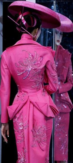 Christian Dior Haute Couture by John Galliano | Spring 2007 - Victorian Inspired Geisha Fashion