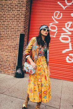 Natalie Suarez Wearing Gucci X Unskilled Worker