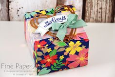 Gift Box Punch Board Projekte | Fine Paper Arts