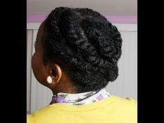 "Quick, Cute Protective Hairstyle that you can wear anywhere! Great for natural, relaxed, or texlaxed hair.     Lipstick Info:  Nina Ultra Pro lipstick in ""purple rain""    Music Info: Royalty Free Music by Kevin MacLeod   (www.incompetech.com)     ""Natural Hair"" Confidence Natural Texture Short..."
