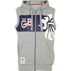 Team GB Sleeveless Hoodie