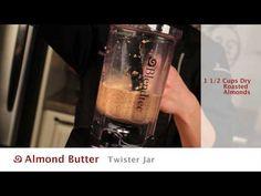 Almond Butter - Blendtec Recipes -----> http://www.blendtec.com/recipes/almond_butter
