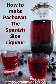 Our homemade Pacharan recipe is a beautiful cherry red, fresh and fruity sloe liqueur with a delicious background flavour of aniseed, vanilla and coffee.