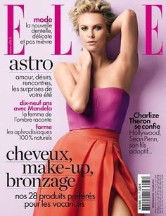 Charlize Theron -  Elle June 2014