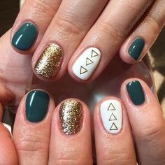 Fall-Ready Nail Art - The Best Fall Nail Ideas on Pinterest - Photos