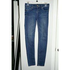Blue Denim Jeans Like new blue denim jeans, size 3 Regular length. Wet Seal Jeans Skinny
