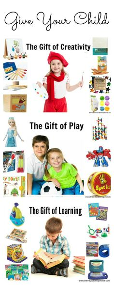 MUST save!!! 5 Year Old Gift Ideas for birthday and holidays from a mom of a 5 year old and kindergarten teacher. Give your child the gift of creativity, play, and learning. Book list suggestions for beginning readers included.