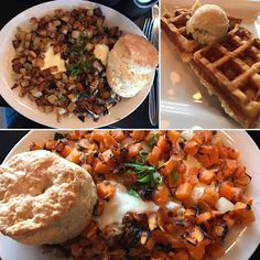TEXAS TAKEOVER Brunch @24dineratx of SWEET POTATO HASH (Roasted poblanos sausage Jack cheese onions and jalapeños) and 24 HASH (Cheddar bacon sausage onion jalapeños). And of course a half waffle with butter and maple syrup just for good luck  . . . . . #taste #brunch #food #foodie #texas #holiday #breakfast #newyear #topcitybites #eeeeeats #foodpic  #restaurant #usa #america #nomnom #chef #foodporn #foodlover #eat #instafood #foodpics #dailyfoodfeed #lovefood #foodgasm #topcitybites…