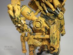 ArtStation - Advanced Hydraulic Walker aka HYWAK. 1/6 scale Mech model, tle industry