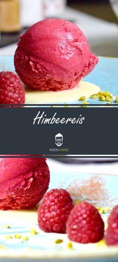 #Himbeereis #himbeere #eis