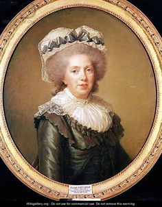 """""""Madame Adelaide of France by Elisabeth Vigee-Lebrun. 1791."""""""